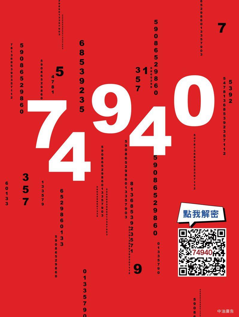中油74周年慶活動6月起跑,74790(其實就是是你)抽獎活動不是假訊息。記者王昭月/翻攝