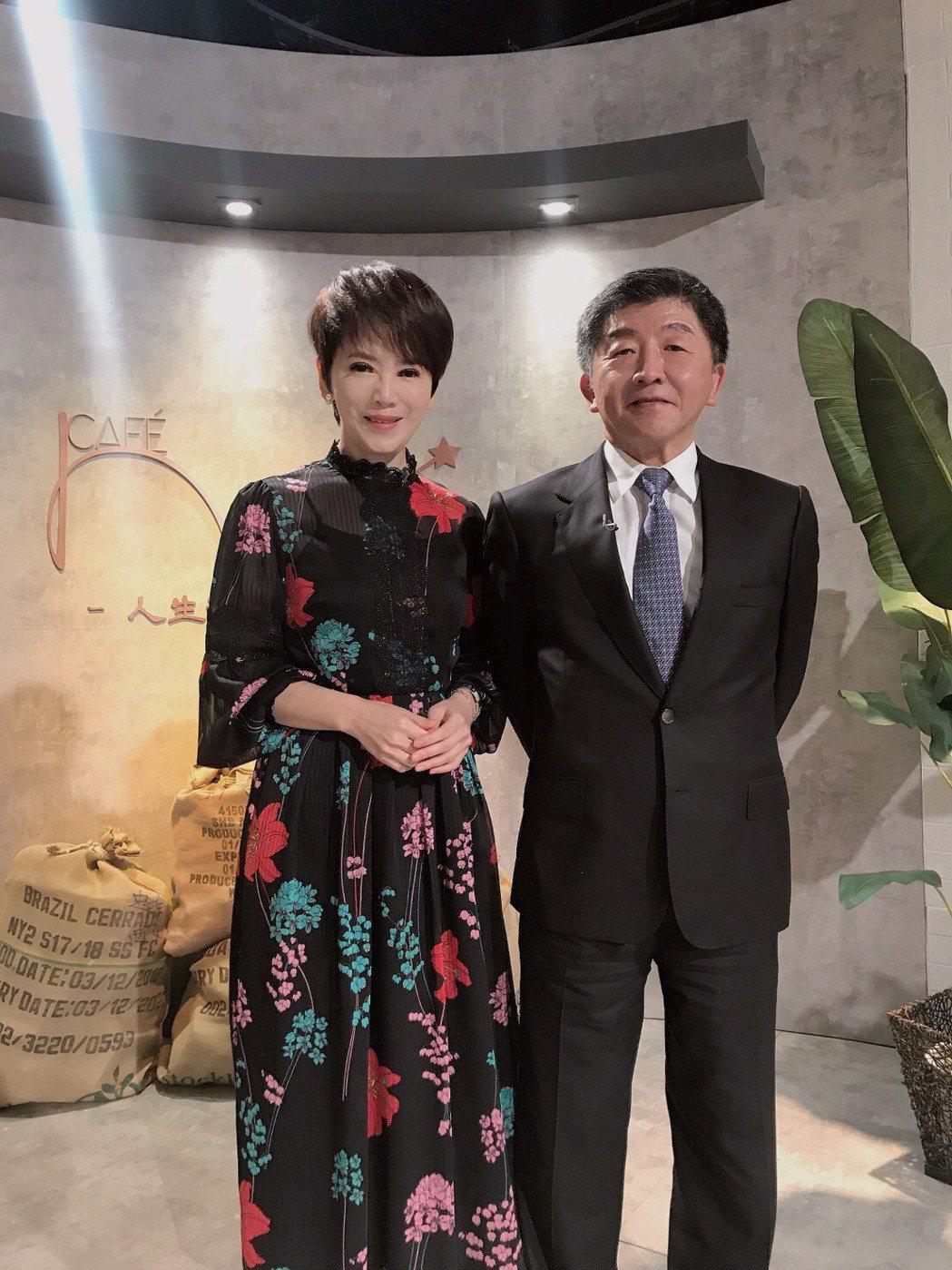陳時中接受陳雅琳專訪。圖/壹電視提供