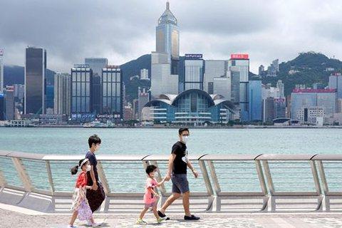 香港商界人士建議,特區政府也可以對美國加徵關稅。圖/中新社資料照片