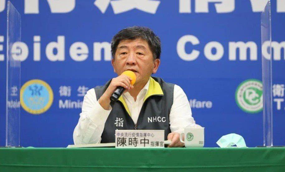 陳時中是國民心中的鋼鐵部長。圖/指揮中心提供
