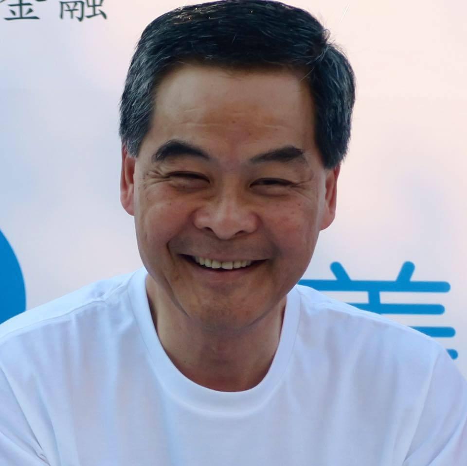 香港特別行政區第四任行政長官、現任大陸全國政協副主席梁振英。(取自梁振英臉書)