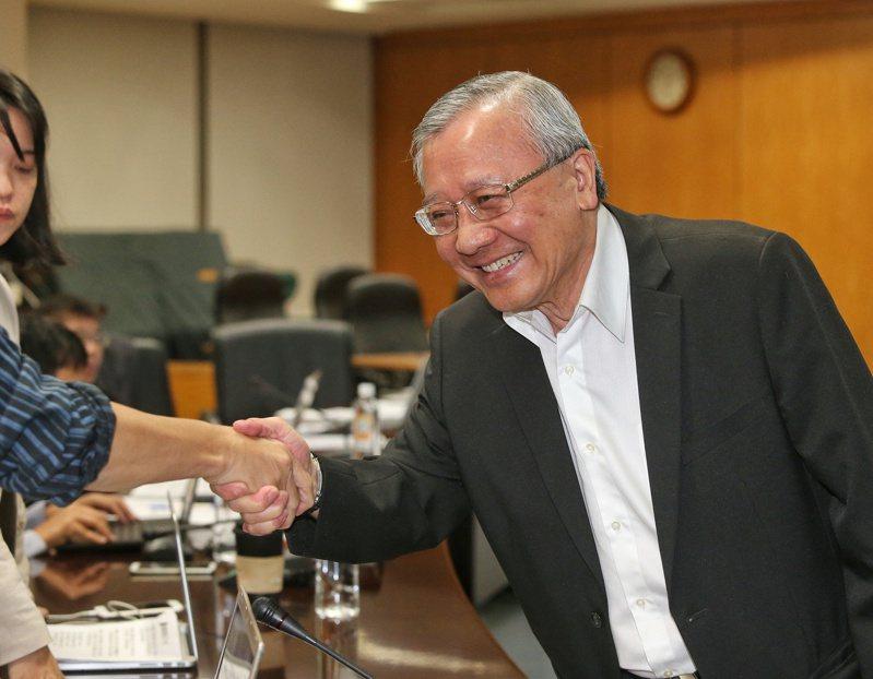 中油前董事長戴謙(圖)傳出將接任台南市私立崑山中學榮譽董事長兼代理校長。圖/聯合報系資料照片