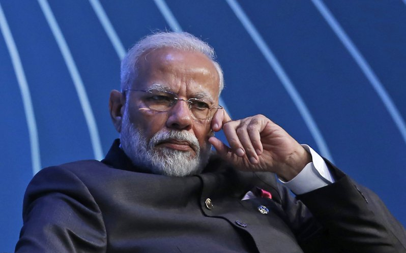 印度總理莫迪。(美聯社)