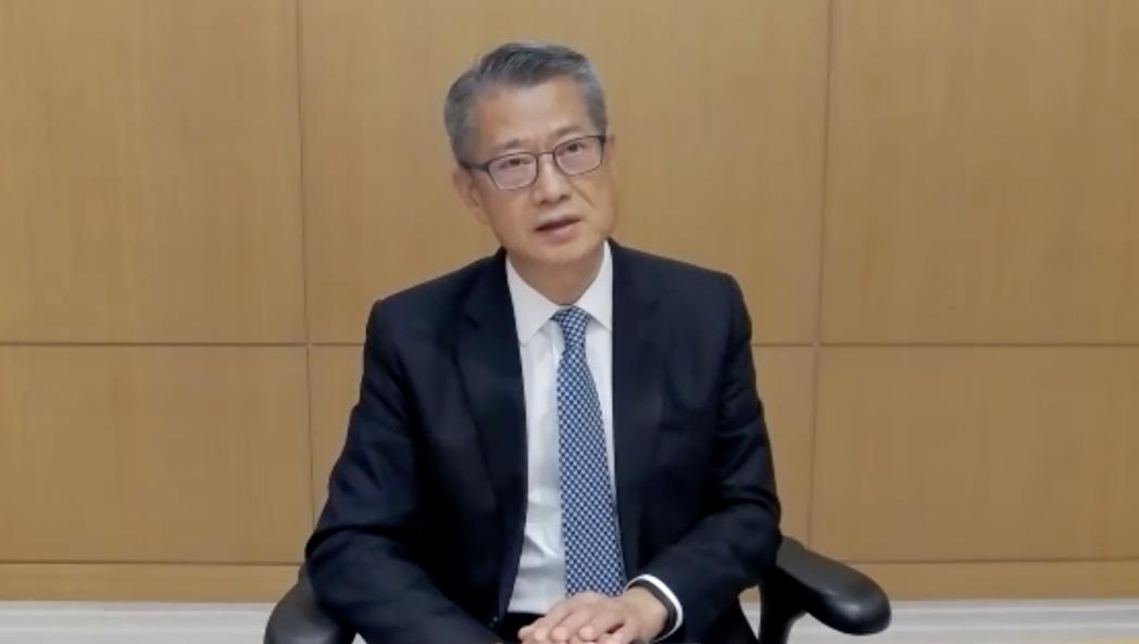 香港財政司司長陳茂波。(取自《環球網》)
