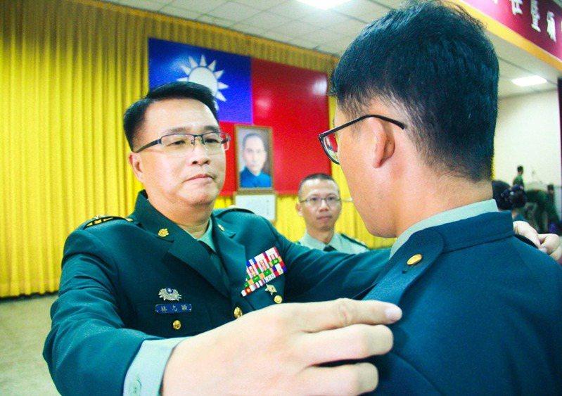 林志穎少將。圖/引自陸軍司令部臉書