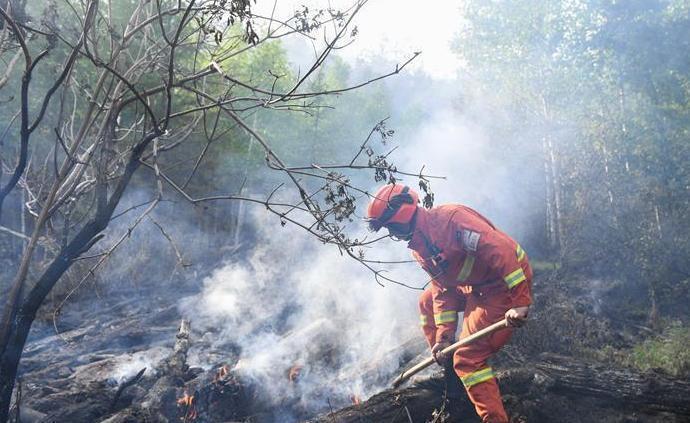 救火示意圖。圖/取自澎湃新聞