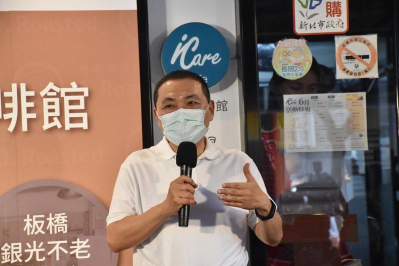 罷韓投票最後倒數,新北市長侯友宜(圖)昨天表示,會繼續為韓國瑜加油打氣。記者江婉儀/攝影