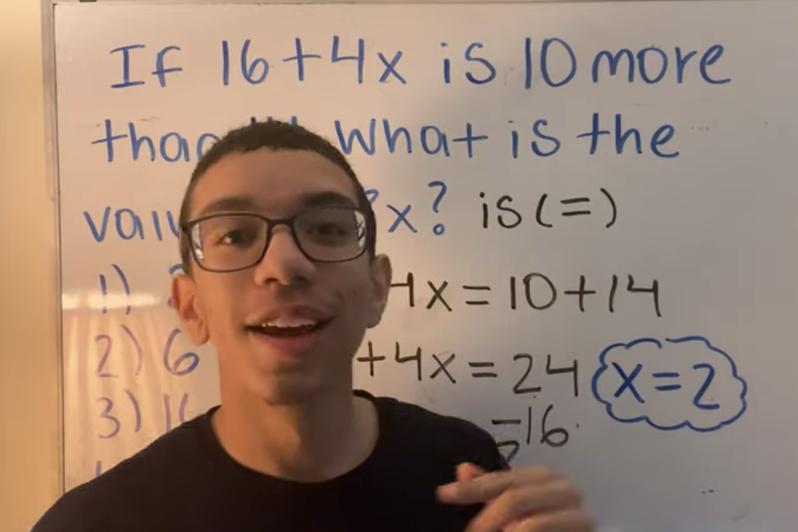 一名美國的16歲天才,使用抖音教大家如何解方程式和函數,並拍攝學習重點筆記供大家分享,目前也已累積超過66萬粉絲追蹤。圖擷自scotscoop