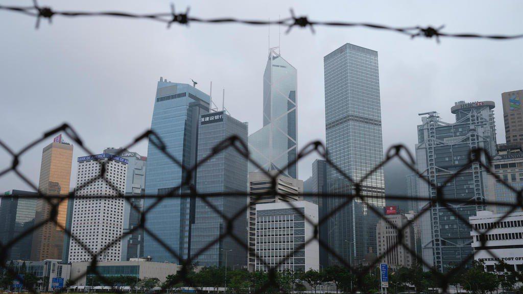 香港景眺。 圖/路透