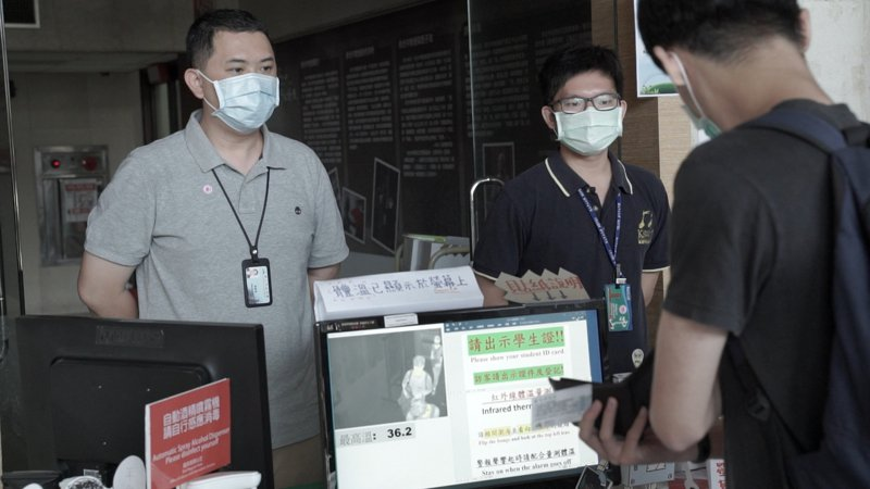 AICEE Taiwan發表「台灣高教成功抗疫九大關鍵決策」影片,向國際社會分享台灣高教機構的經驗。圖/AICEE Taiwan提供