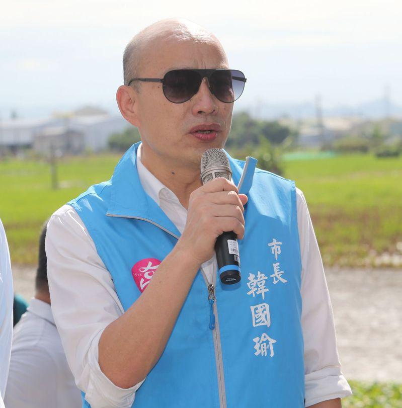 罷免投票倒數,高雄市長韓國瑜今天沒有公開行程,僅私下拜訪友人。記者劉學聖/攝影