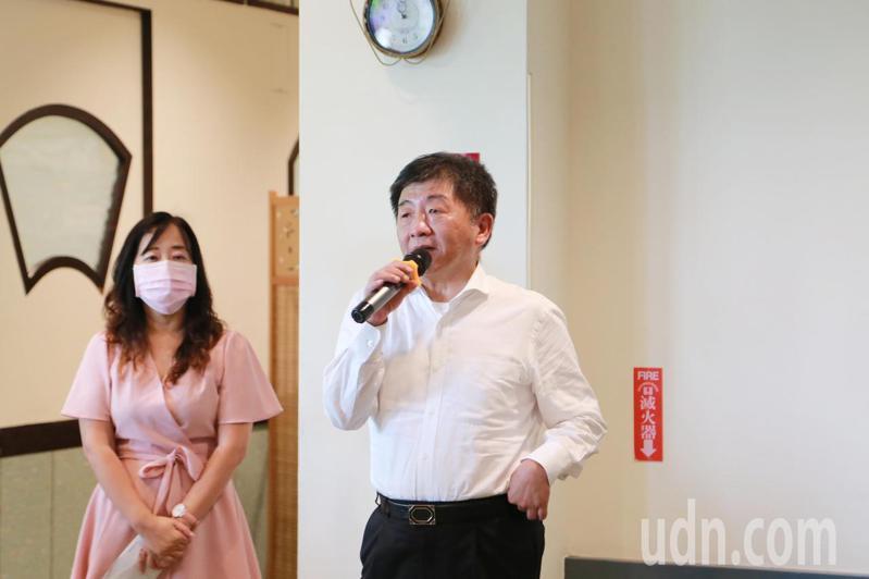 中央流行疫情指揮中心指揮官陳時中。圖/台南市政府提供