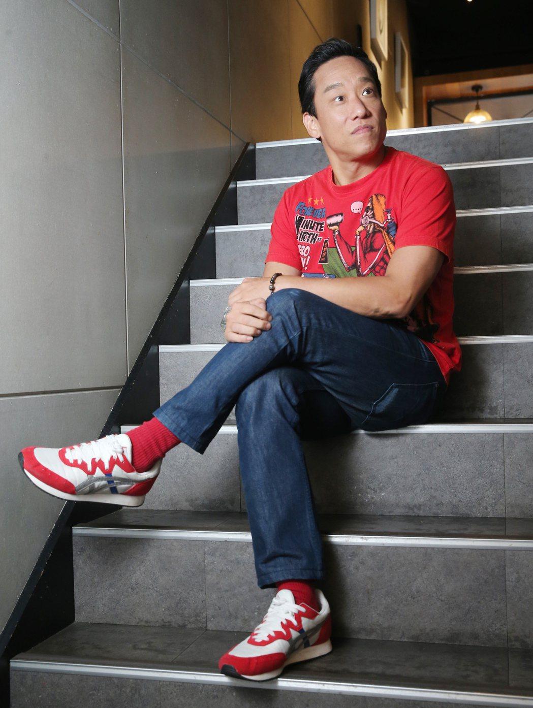 阿龐有個情報員父親。記者徐兆玄/攝影