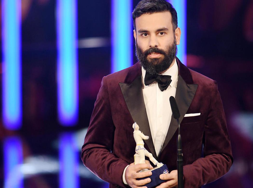 伊朗裔的德國導演葛拉珊今年才拿下「巴伐利亞電影獎」最佳新導演。圖/海鵬提供
