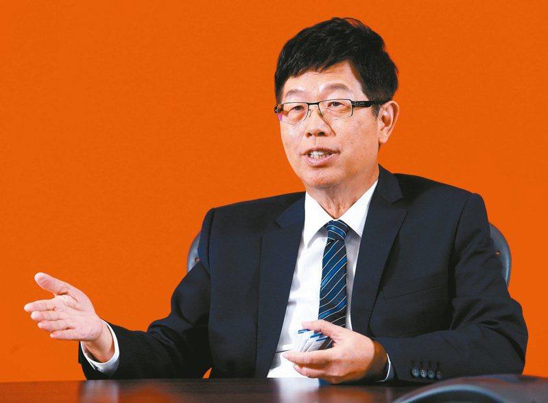 鴻海董事長劉揚偉 記者杜建重/攝影