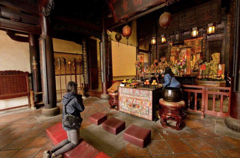 創建至今已有355年歷史的台南祀典武廟,希望能將春秋祭典提升到中樞祭典的地位。圖/台南市政府提供