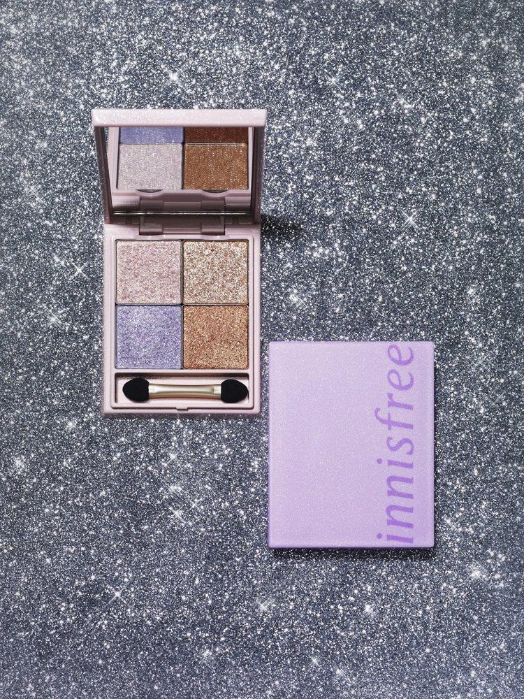 innisfree推出全新8色散發光滑潤澤光芒的流沙光感眼影與金屬光感眼影,還有...