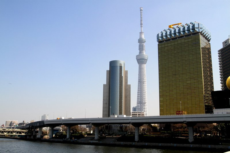 日本東京晴空塔。聯合報系資料照片/記者高彬原攝影