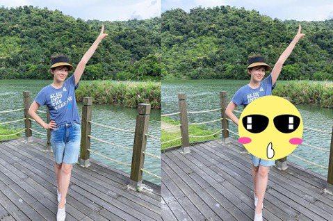 時尚媽咪Melody日前在臉書上分享一家四口出遊的照片,不過網友發現到她修圖修過頭,背景中出現歪柱,讓網友都笑歪!Melody帶著兩個女兒開心出遊,在臉書上分享一家出遊的照片,還寫道「台灣的暑假⋯好...