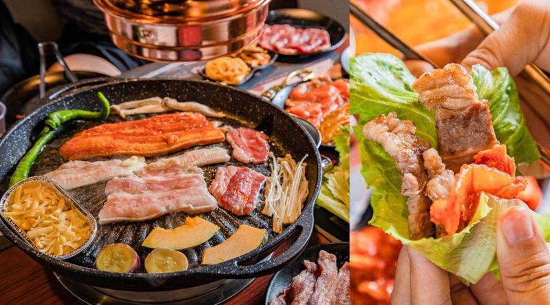 圖/『咚豬咚豬』韓式烤肉吃到飽授權
