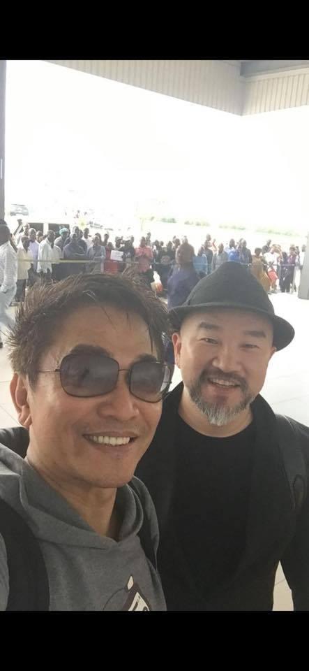 吳宗憲分享三年前與辛龍的合照。 圖/擷自吳宗憲臉書