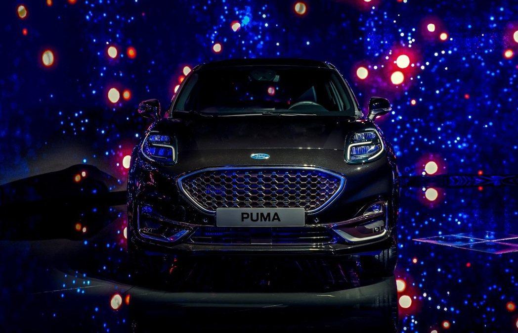 Ford Puma ST-Line Vignale。 摘自Ford