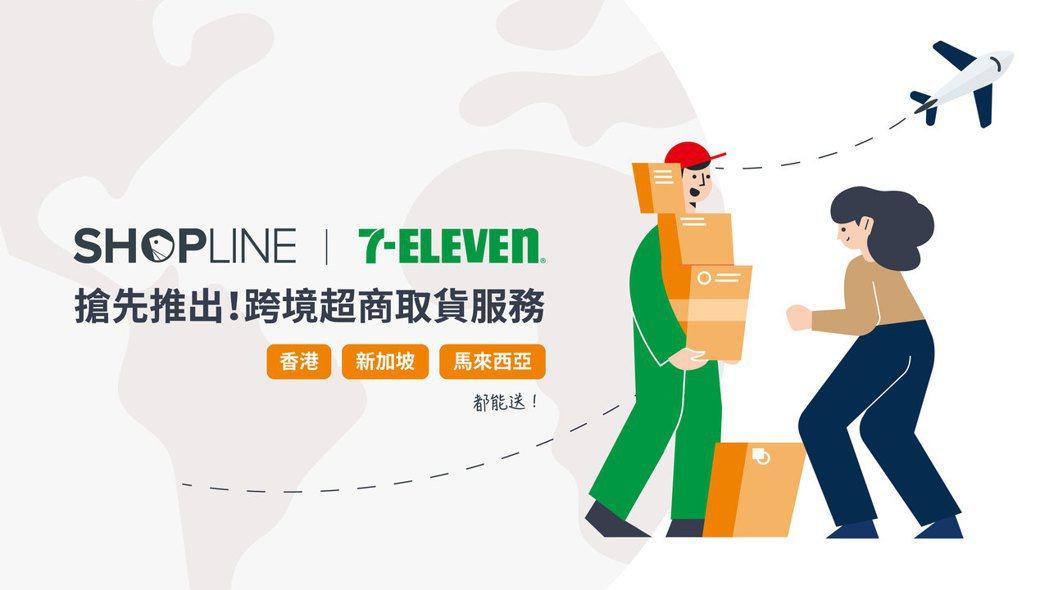 SHOPLINE 搶先串接跨境 7 - ELEVEN 超商取貨服務,領先業界布局...