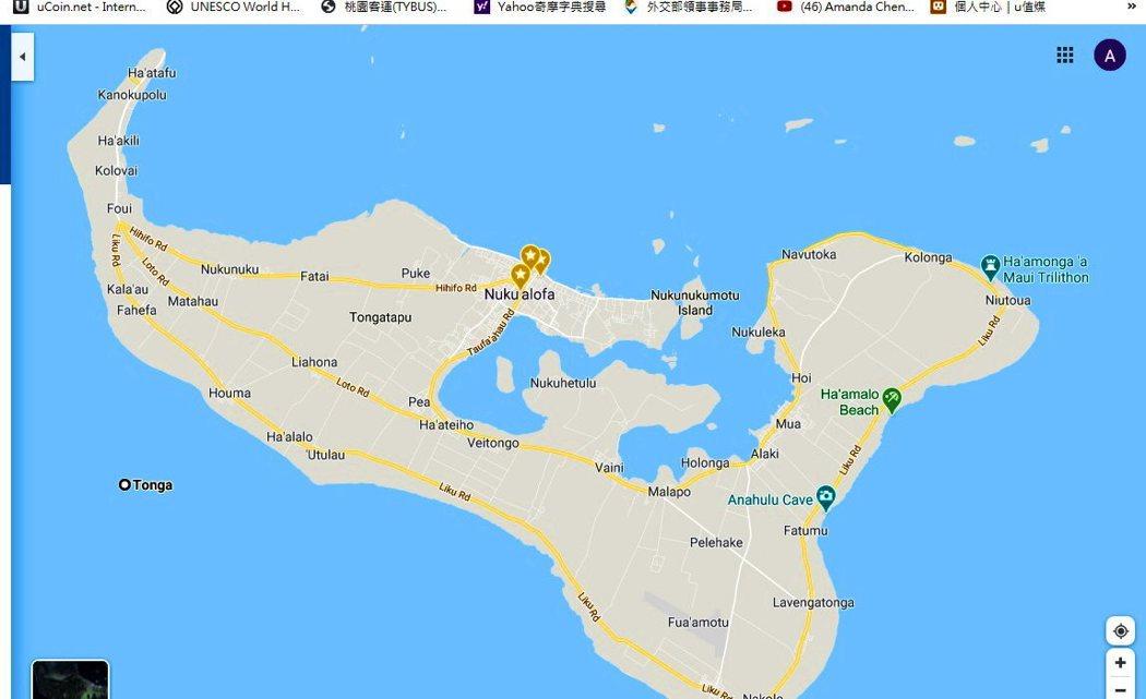 東加塔普島(Island of Tongatapu)