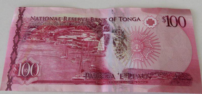 東加王國使用的貨幣稱為潘加(Pa'anga)_