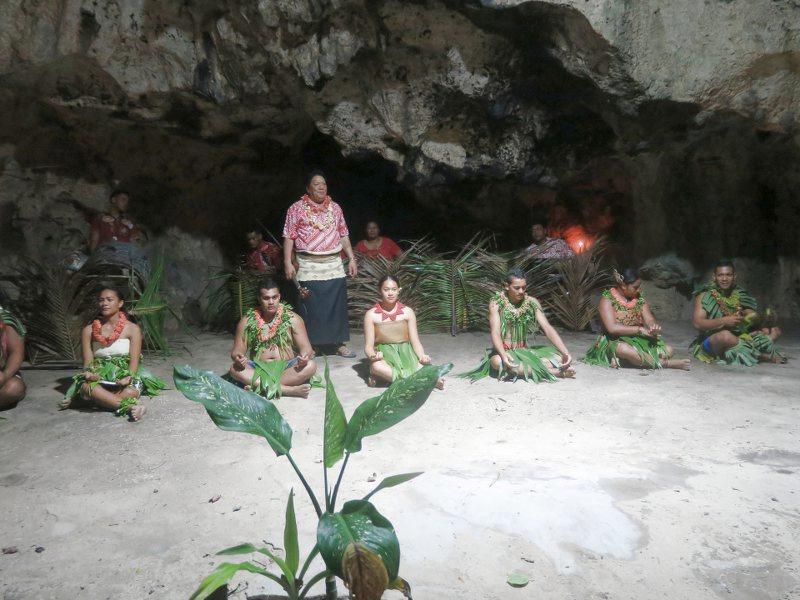 傳統歌舞的表演