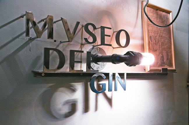 鄭哲宇在Sidebar內部另闢琴酒密室。記者陳立凱/攝影