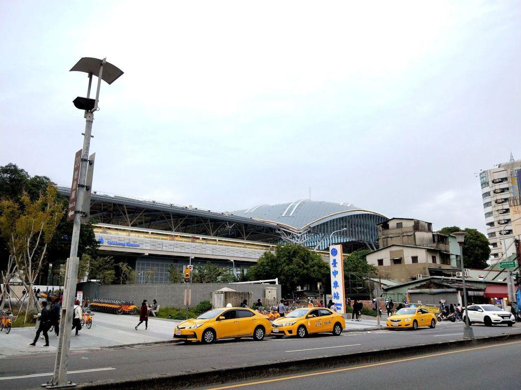 台中車站。圖/台灣房屋提供
