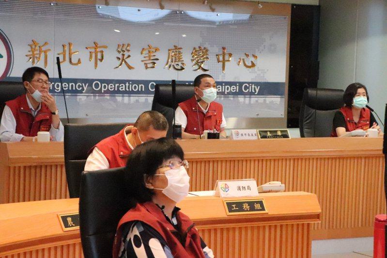 新北市府今召開第65次防疫會議。記者吳亮賢 / 攝影