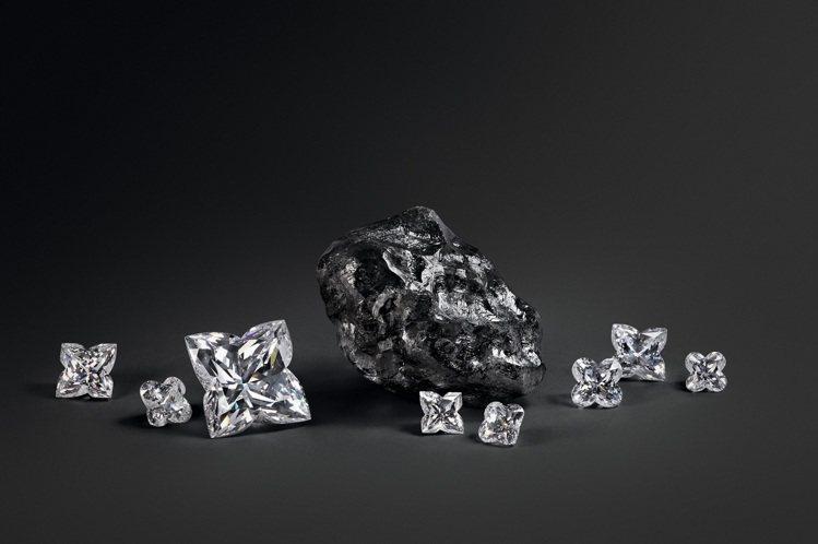 史上第二大的鑽石原石Sewelô將隨LV高級珠寶展現身台灣。圖/路易威登提供