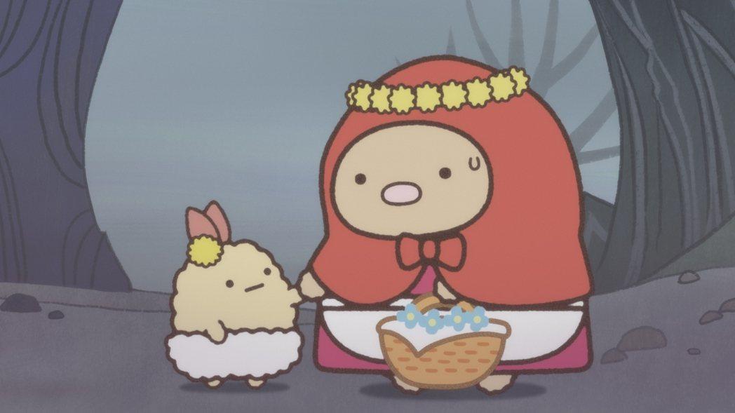 「角落小夥伴電影版」7月10日全台上映!圖/威視提供