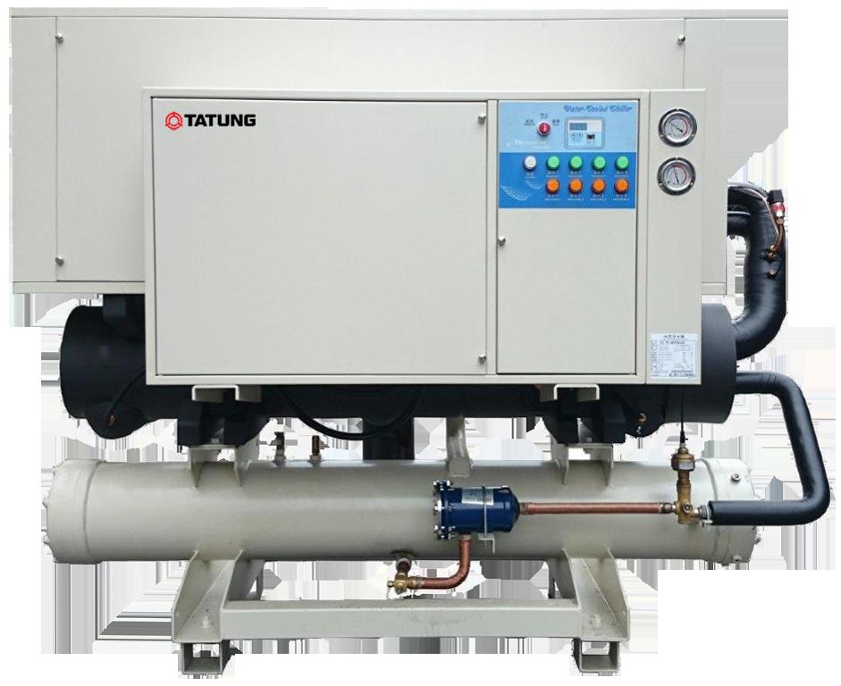 大同公司的水冷式併聯冰水主機享有「高部分負載(IPLV)」。大同/提供