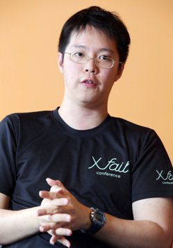 洽吧智能公司董事長趙式隆已多次創業。 記者杜建重/攝影