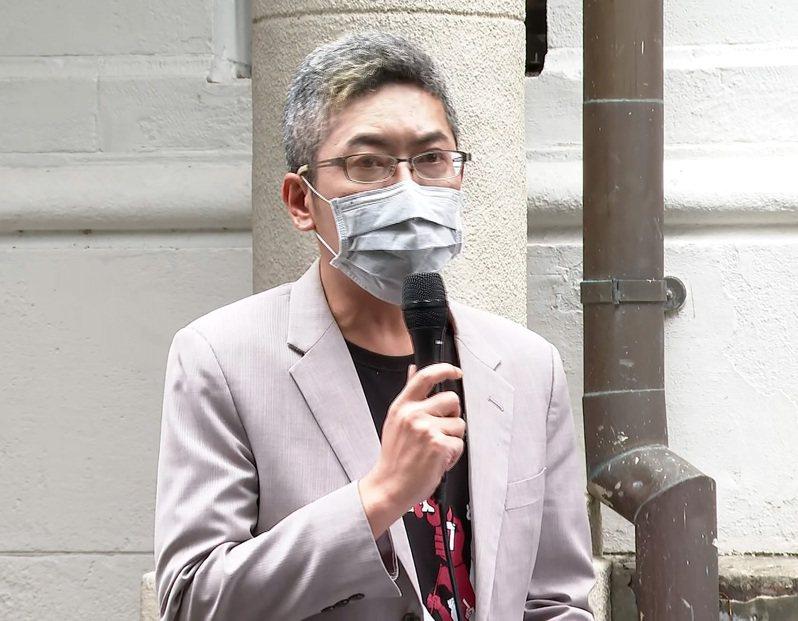 總統府發言人丁允恭。聯合報系資料照/記者陳煜彬攝影