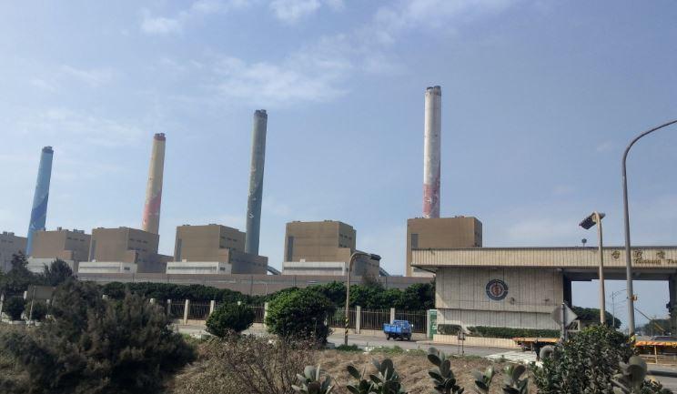 台中火力發電廠。 報系資料照