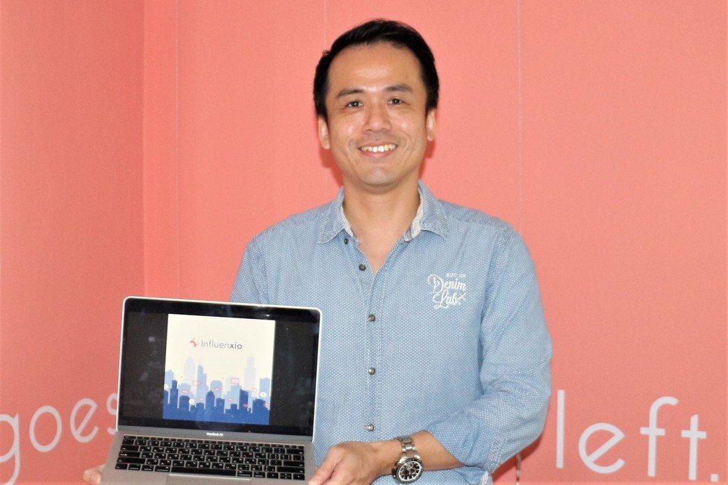 第一次創業的柯景倫、要從Influenxio平台發揮網紅影響力。