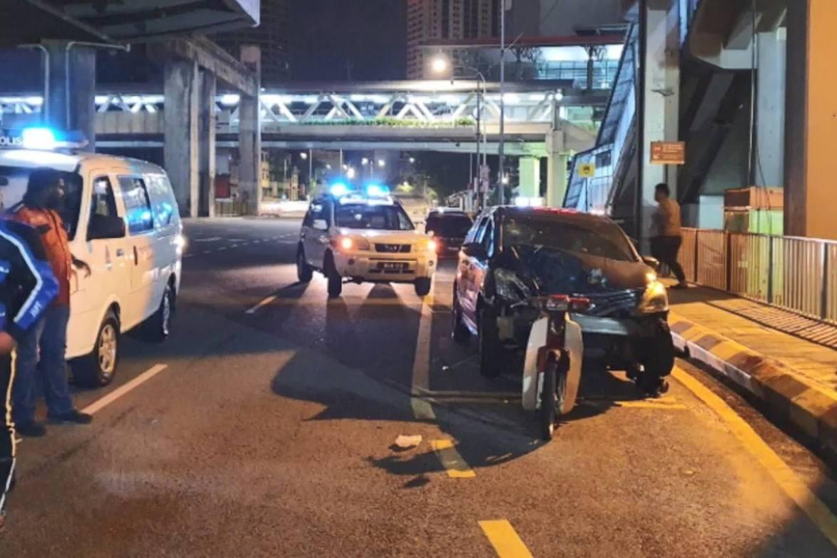 酒駕撞死Foodpanda外賣員 大馬21歲華裔青年竟豎拇指