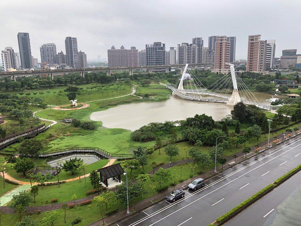 青塘園-日景。 圖/21世紀不動產 提供