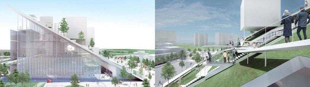 桃園市立美術館模擬圖。 圖/21世紀不動產 提供