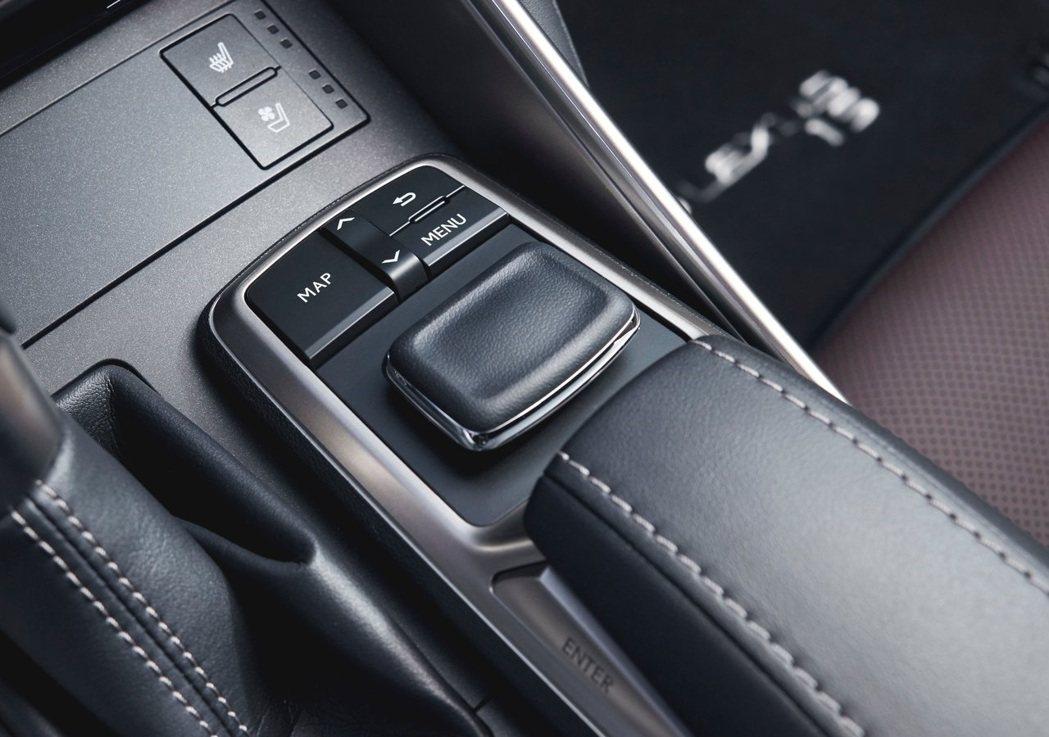 為人詬病Remote Touch介面即將被更換。 摘自Lexus