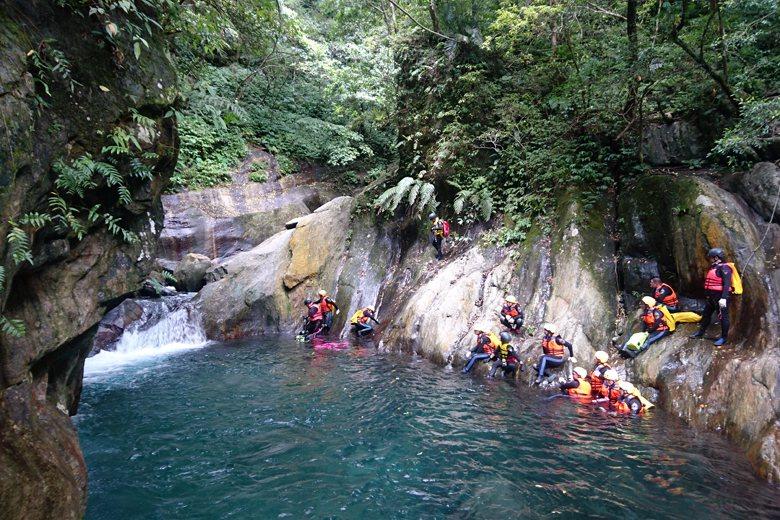 台灣最常發生意外的水域環境是「溪流」,佔所有溺水意外事故41%。 圖/作者自攝