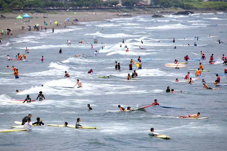 撇除掉國人游泳能力及自救技能不足外,溺水根本原因,在於民眾的水域安全觀念不足。 圖/聯合報系資料照