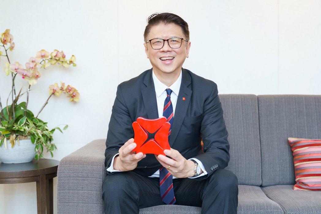 星展銀行(台灣)總經理林鑫川。 圖/陳軍杉攝影