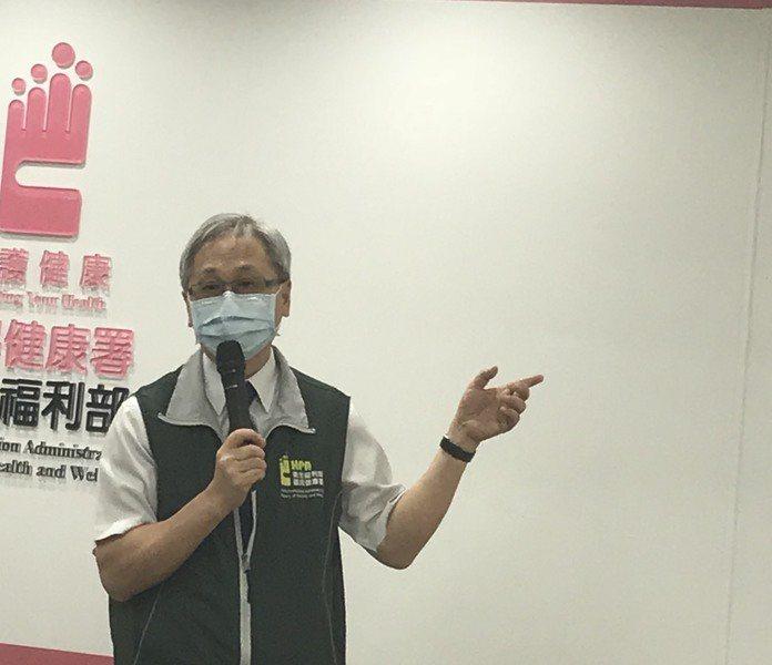 國健署長王英偉呼籲全民實踐防癌,建議定期四大癌篩檢。圖/臧品安