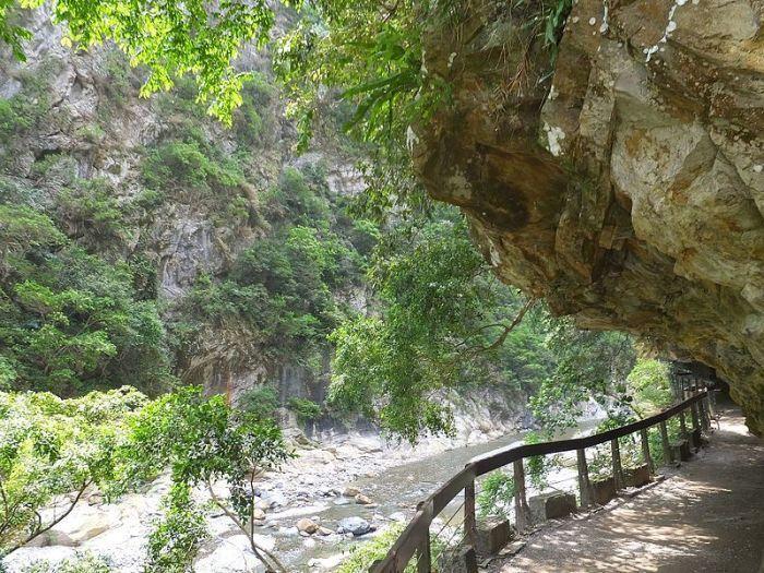 砂卡礑步道。 圖/Wikimedia
