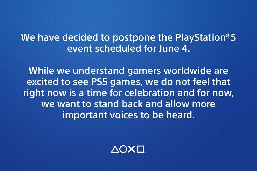 原訂6月5日凌晨舉辦的PlayStation 5線上發表活動 Sony確定延後了   科技娛樂   數位